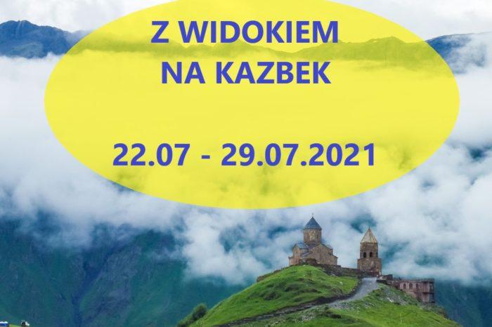 Gruzja z widokiem na Kazbek